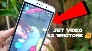 😍How to set video as a ringtone / trick of 2k18 / BY SHADY !