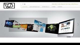 Kako napraviti sajt u wordpress-u
