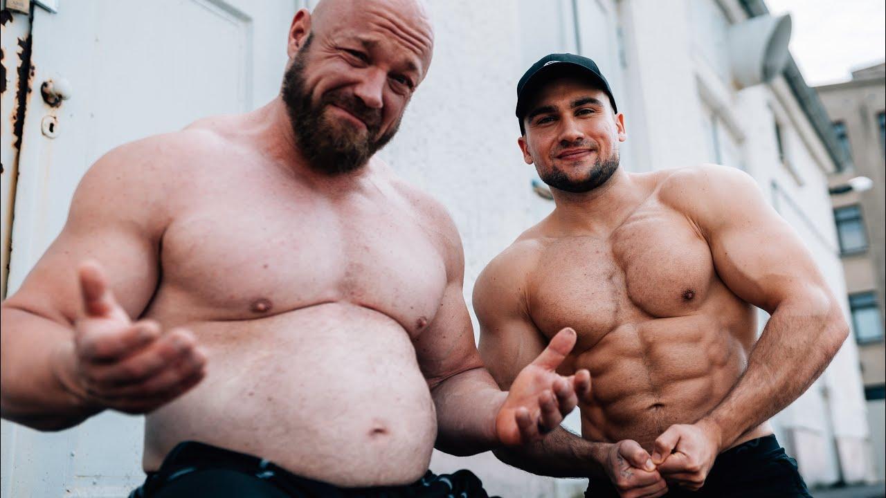 Fett geworden! Erste Gym Session mit Koray & Marc in der