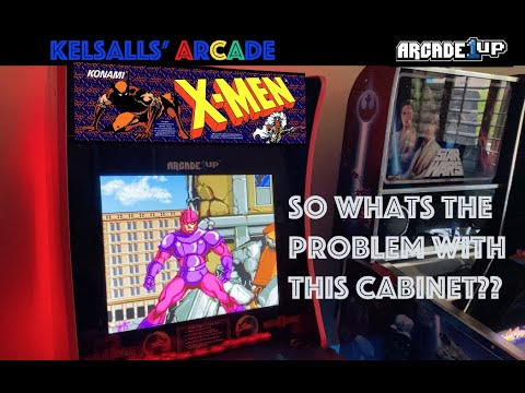 Arcade1up X-Men Preview: So whats the main issue with this cab for us? from Kelsalls Arcade
