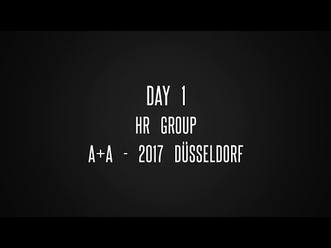 Day 1 | HR Group | A+A - 2017 | @Düsseldorf