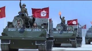 Военные учения в Северной Корее видео КНДР 28.04.2017 Military exercises in North Korea