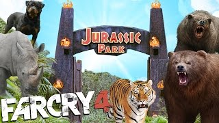 JURASIC PARK CON ANIMALES | FAR CRY 4