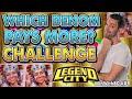 CHALLENGE 🎰 Which Denomination pays more 🎰 On Legend City