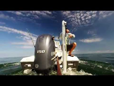Using the Power-Pole Downrigger in Tampa Bay