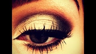 prom black silver smokey eye makeup tutorial naked 2 palette