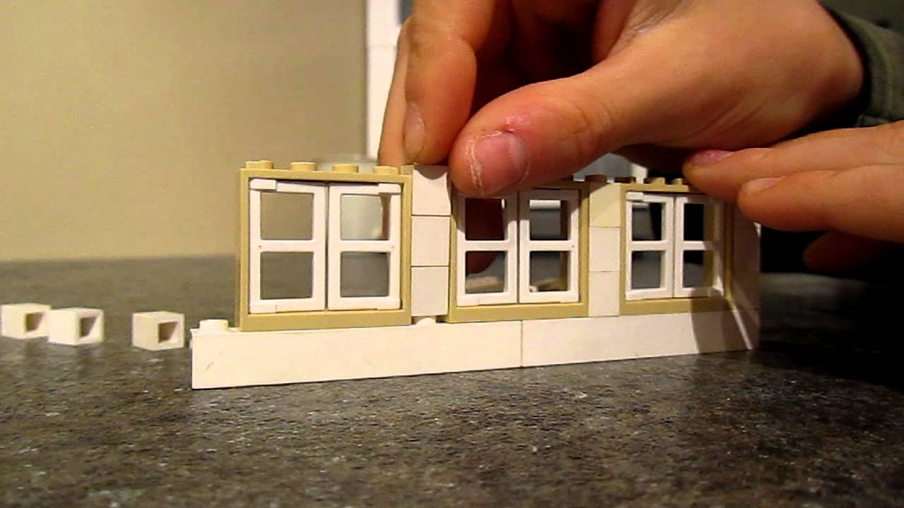 Tutorial On How To Build Lego Shed Windows Youtube