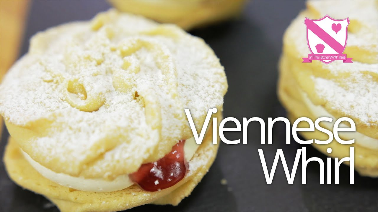 Viennese Whirl Sandwich Biscuit Recipe - YouTube