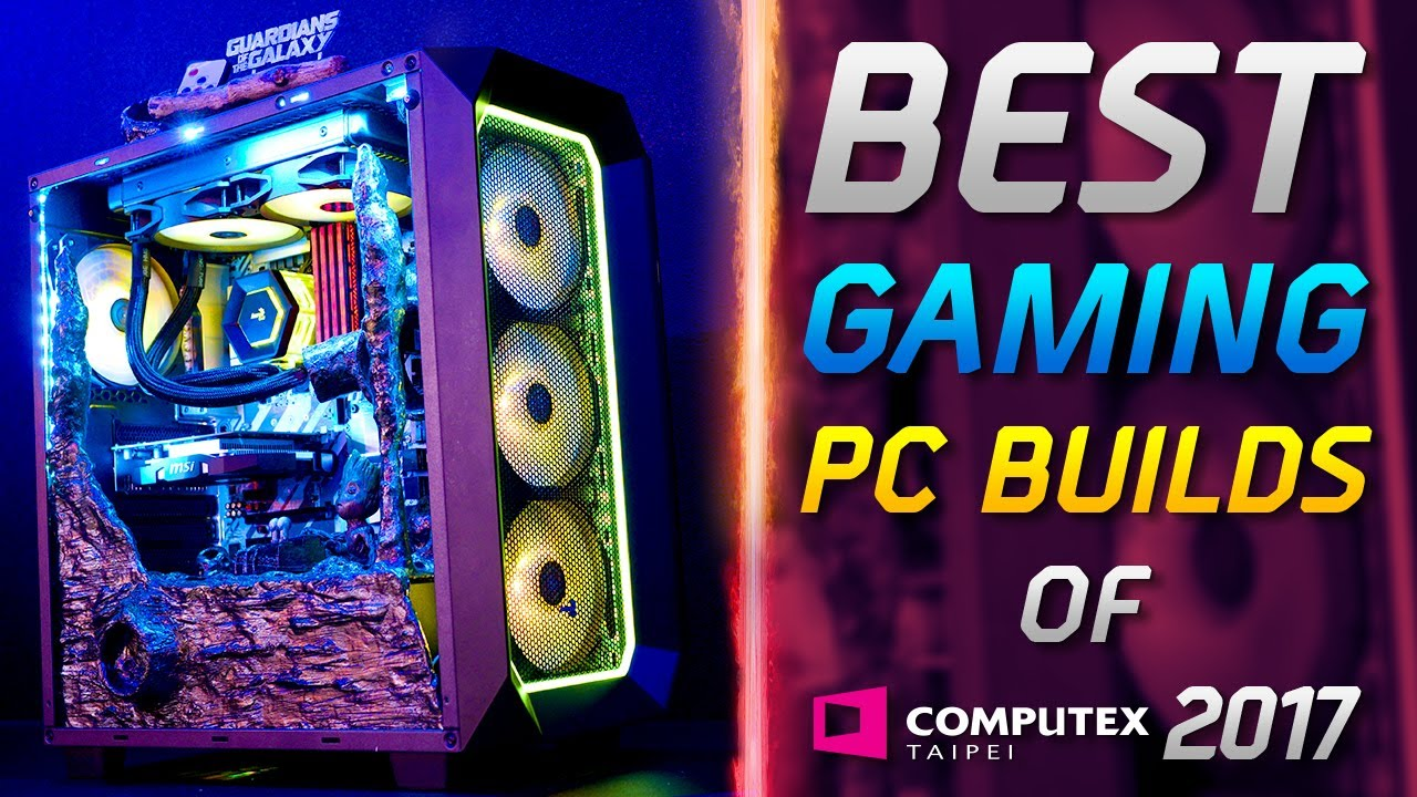 Best Gaming PC Builds of Computex Taipei 2017