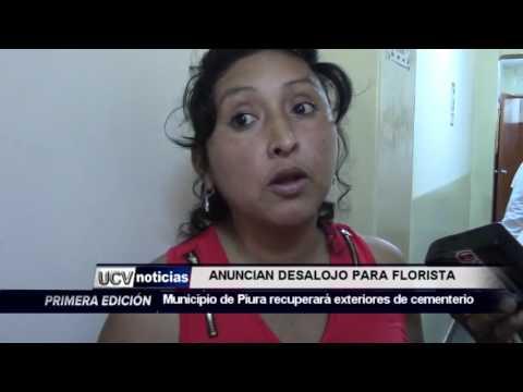 ANUNCIAN DESALOJO DE FLORISTAS-UCV NOTICIAS PIURA