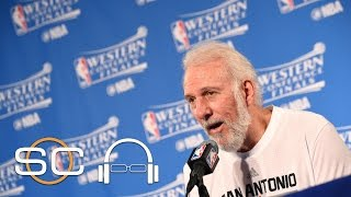 Rachel Nichols: Pop Surprised At Spurs Performance Against Warriors | SC with SVP | May 17, 2017