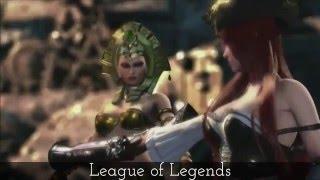 3D Cartoon Action Movies-League of Legends spectacular skills of Katarina,Ahri,Caitlyn,Master Yi.