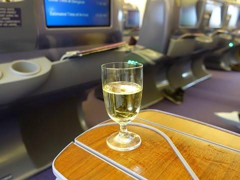 Thai Airways 777-300  Business Class Seoul to Bangkok การบินไทย โซล ไปยังกรุงเทพฯ