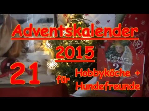 adventskalender 21 t rchen hund gew rze kochen sonnentor zauber der gew rze youtube. Black Bedroom Furniture Sets. Home Design Ideas