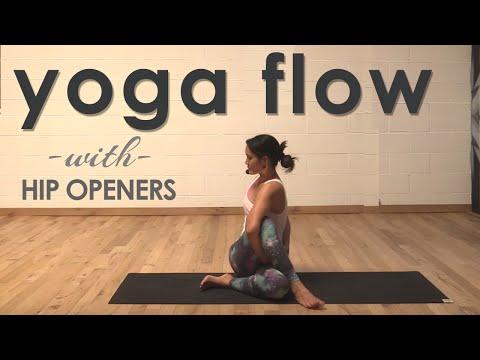Hip Opening Yoga Flow with Gloria Baraquio
