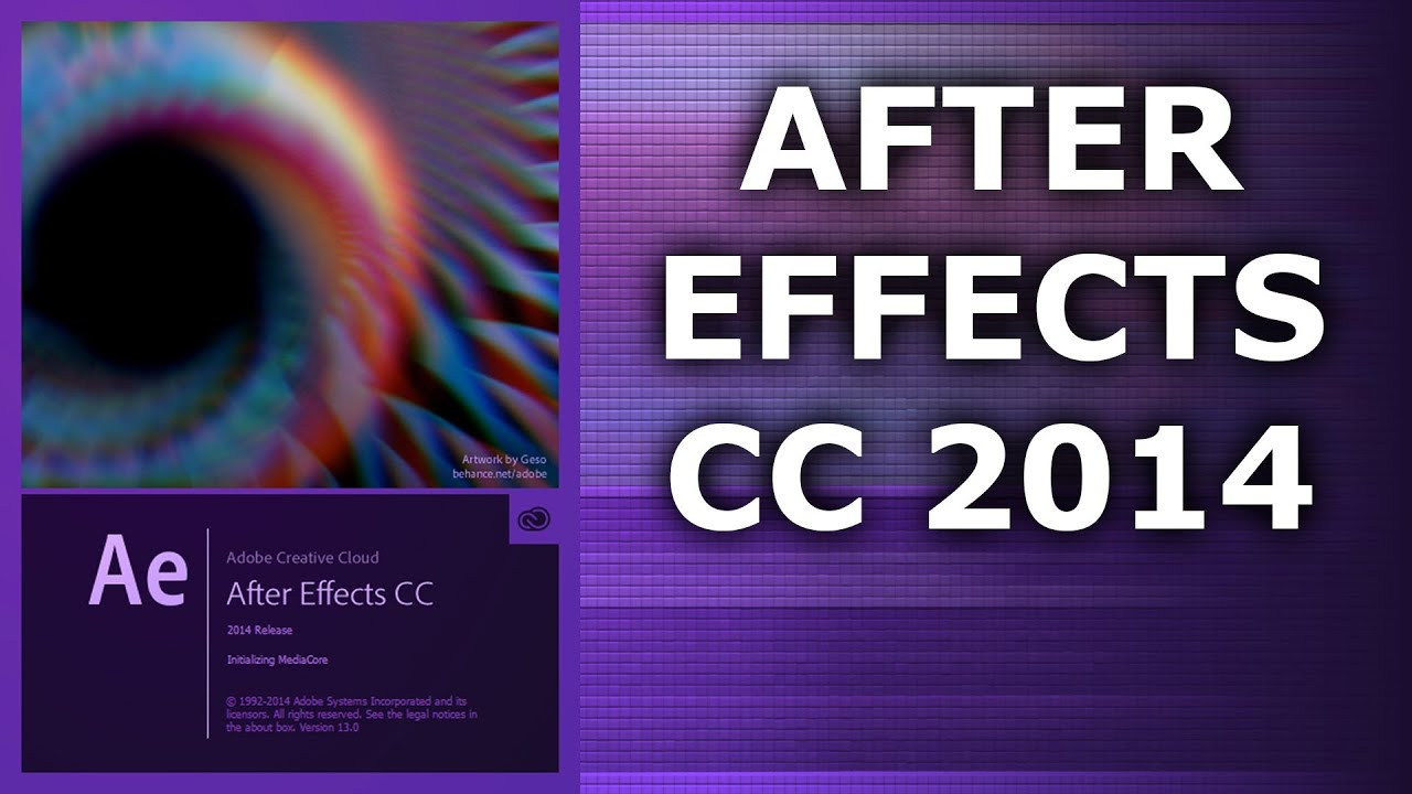 Full Free Download Adobe After Effects CC 2014