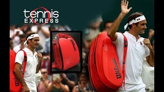 Wilson Infrared Federer DNA Backpack and 12 Pack | Tennis Express