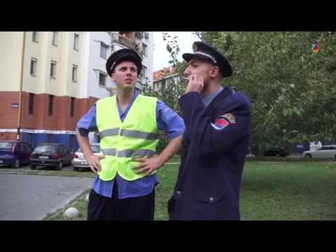 DNEVNJAK - Saobraćajni policajci i zaustavljanje stranca