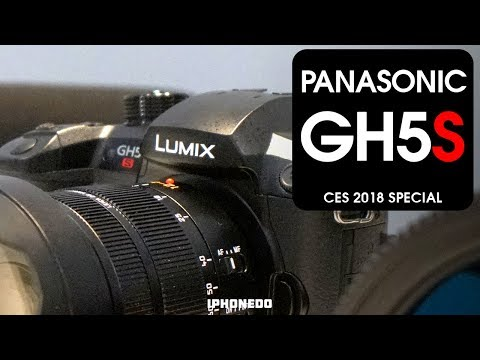 Panasonic Explains Why They Removed I.B.I.S From GH5S [CES 2018 Special]