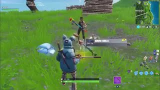 It was amazing what happened friend alone you have to see fortnite glitches