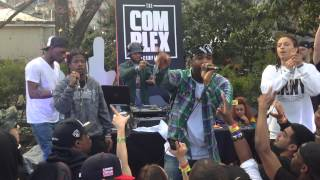 ASAP FERG  performs Shabba Ranks at SXSW 2014 Complex magazine Show case