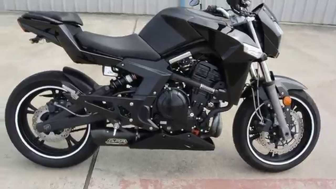 $2,899: Pre Owned 2014 CF Moto 650 NK For Sale Overview - YouTube