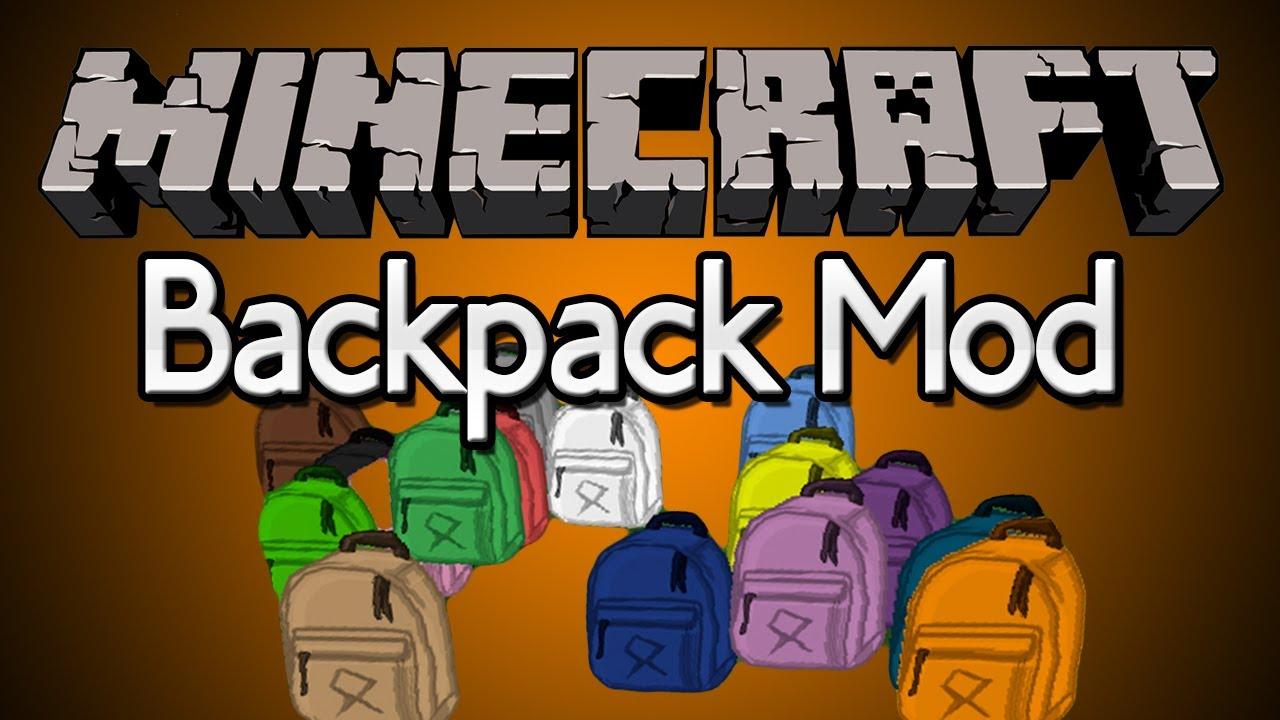 Скачать моды на майнкрафт 1.6 4 на рюкзаки ранцы и рюкзаки детям