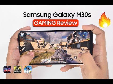 Samsung Galaxy M30s Gaming Review -PUBG, Call Of Duty, Asphalt | Performance,Heating & Battery Drain