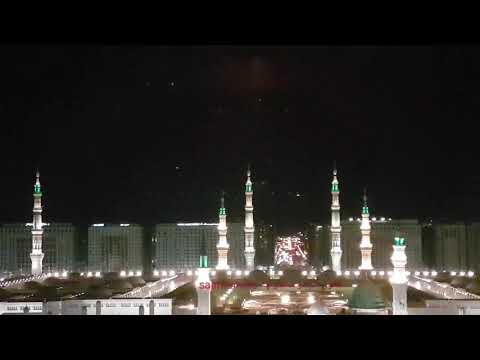 panoramic view of Al Masjid An Nabawi - Madina