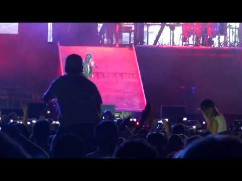 Eminem Rap God- LIVE in New Zealand