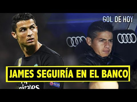 Fuerte declaración: Cristiano habla de James | El mundo hunde al Madrid