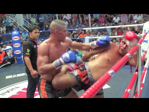 Jongsanan (Tiger Muay Thai) vs Alex (Phuket Sitsongpeenong) @ Bangla Stadium 18/3/2015