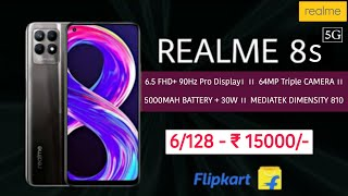 💥 REALME 8S 5G 💥   full specifications