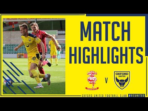 Линкольн Сити  2-0  Оксфорд Юнайтед видео