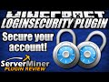 How to protect your account in Minecraft with LoginSecurity Plugin