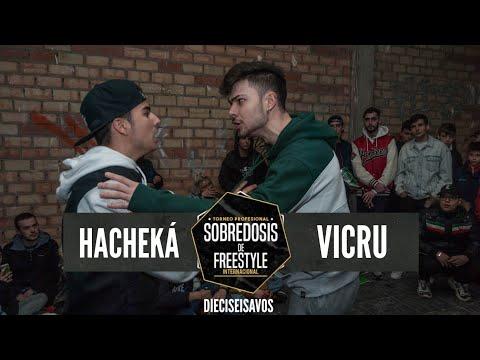 HACHEKÁ Vs VICRU - 16avos #SOBREDOSISDEFREESTYLE
