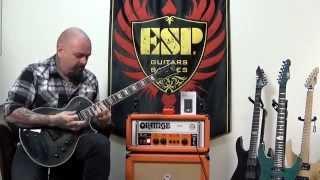 ESP LTD EC-1000 ET Demo Evertune FM See Thru Black 2015 Electric Guitar