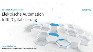 Virtuelle Messe: Elektrische Automation trifft Digitalisierung