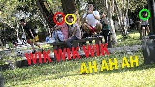 PRANK WIK WIK WIK...AH AH AH...DI TEMPAT UMUM  |PRANK INDONESIA