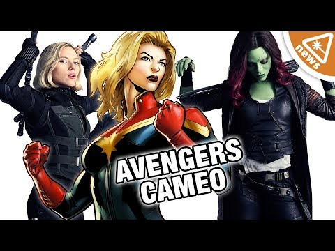 What a Captain Marvel Secret Avengers Cameo Means for the MCU! Nerdist News w Jessica Chobot