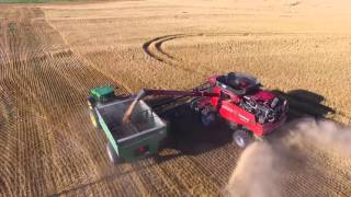2015 Kansas Wheat Harvest on the LaRosh Farm (short)