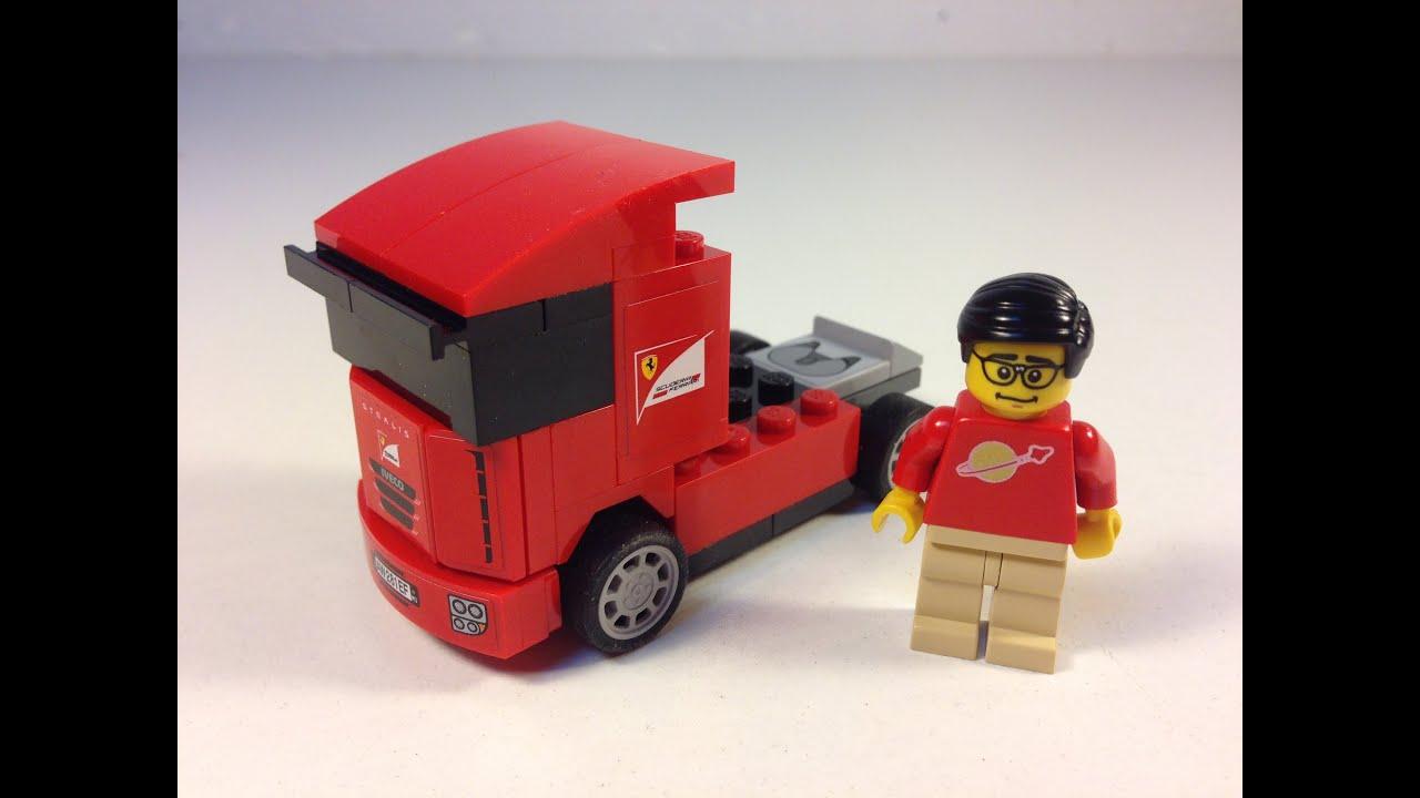 lego scuderia ferrari truck 30191 shell v power. Black Bedroom Furniture Sets. Home Design Ideas