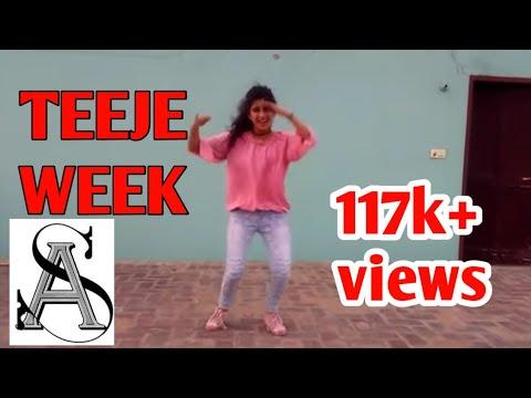 Teeje week song dance