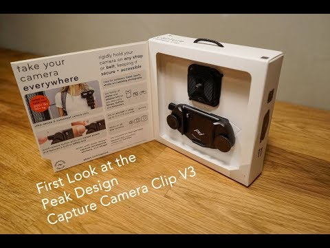 The Peak Design Capture V3 - First Impressions