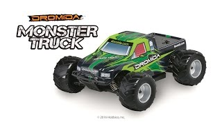 Dromida 1/18 Monster Truck 4WD RTR Video