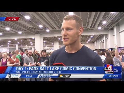 Tom Hopper at FanX18 Day One