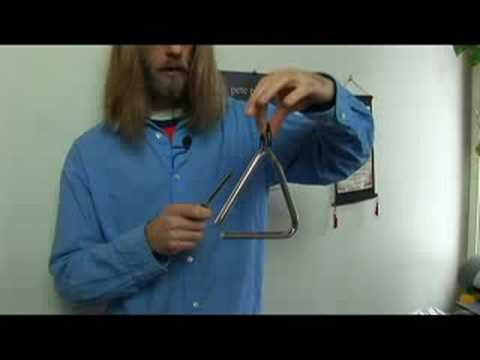 Types of Percussion Instruments : Percussion Instruments: Triangle