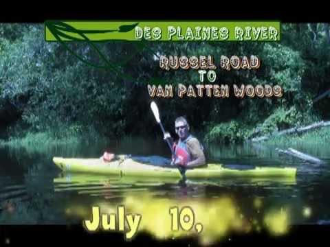 Des Plaines River Kayaking - Russell Road to Van Patten Woods