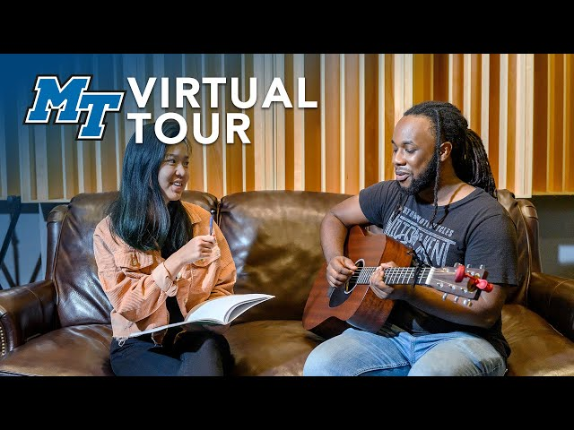 College of Media and Entertainment | MTSU Virtual Campus Tour