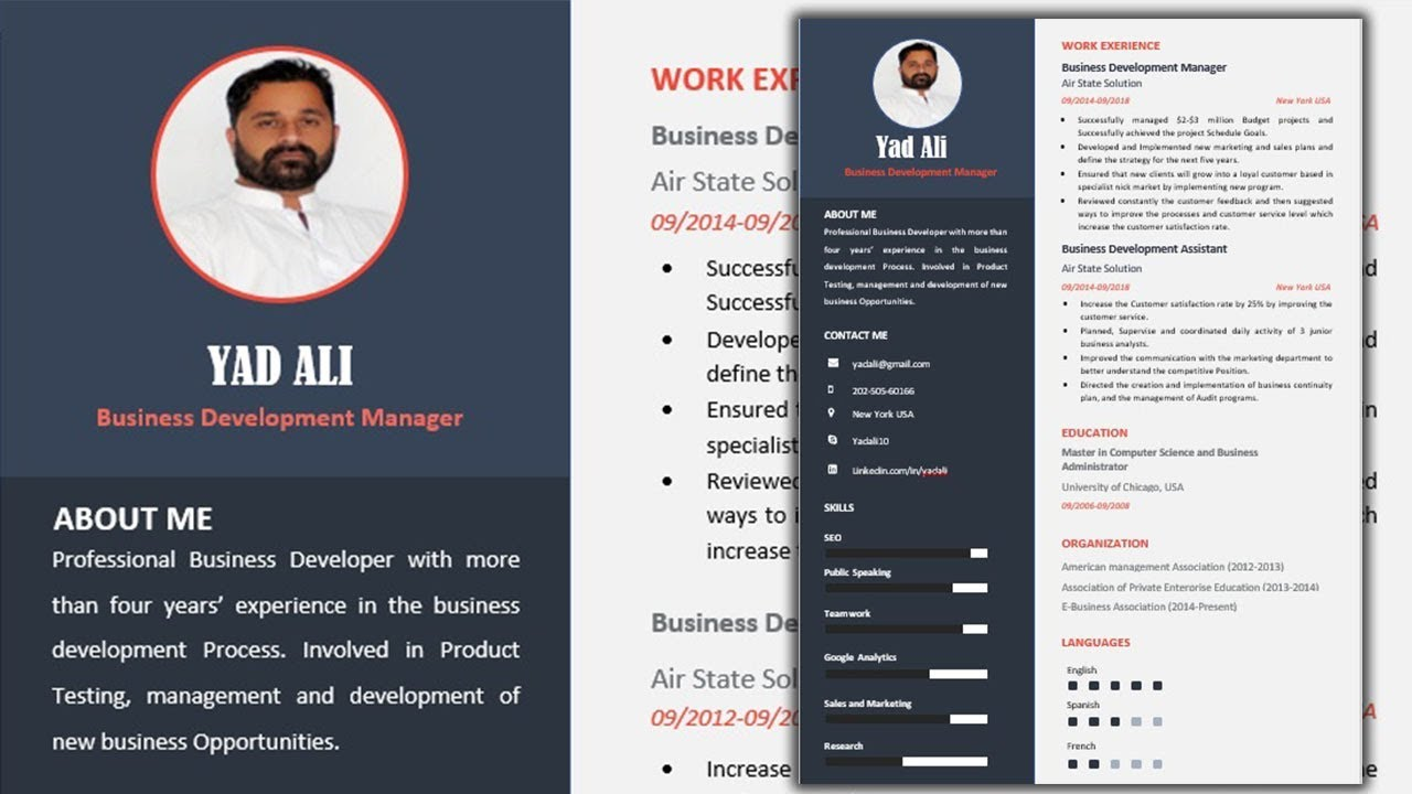 how to create best resume with microsoft word 2019 for